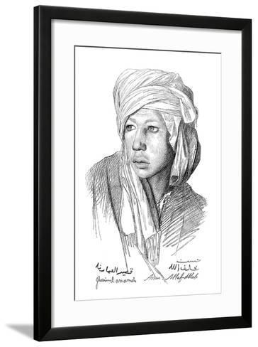 A Study, 1899-Jean-Leon Gerome-Framed Art Print