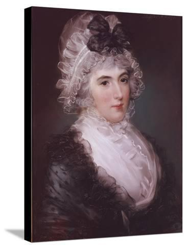 Portrait of Mrs Janet Grizel, 1794-John Russell-Stretched Canvas Print
