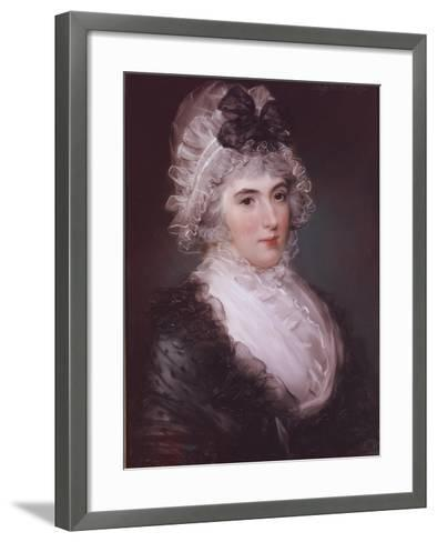 Portrait of Mrs Janet Grizel, 1794-John Russell-Framed Art Print