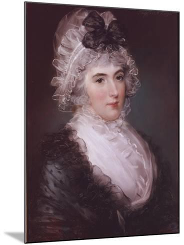 Portrait of Mrs Janet Grizel, 1794-John Russell-Mounted Giclee Print