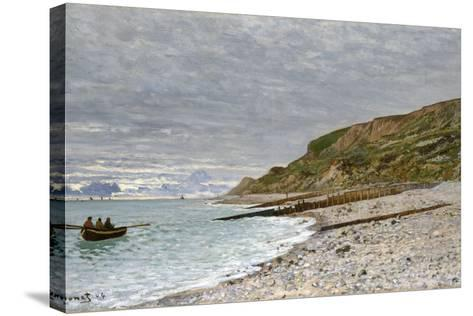 La Pointe De La Hève, Sainte-Adresse, 1864-Claude Monet-Stretched Canvas Print