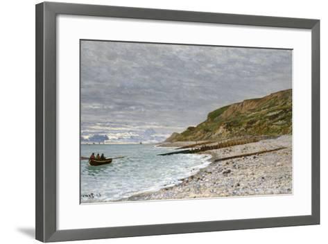 La Pointe De La Hève, Sainte-Adresse, 1864-Claude Monet-Framed Art Print