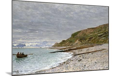 La Pointe De La Hève, Sainte-Adresse, 1864-Claude Monet-Mounted Giclee Print
