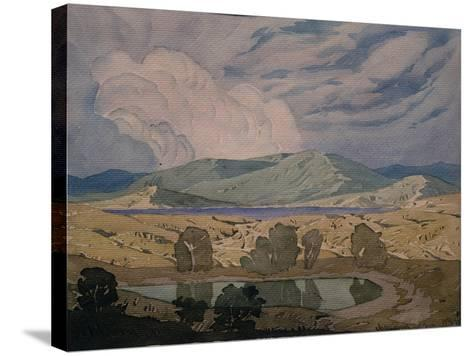 A Cloud over the Bay, Koktebel, 1925-Maximilian Voloshin-Stretched Canvas Print