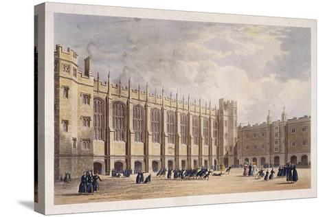 Christ's Hospital, London, C1825--Stretched Canvas Print