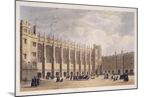 Christ's Hospital, London, C1825--Mounted Giclee Print