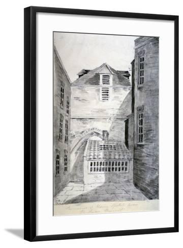 Church of St Alfege, London Wall, London, 1805--Framed Art Print