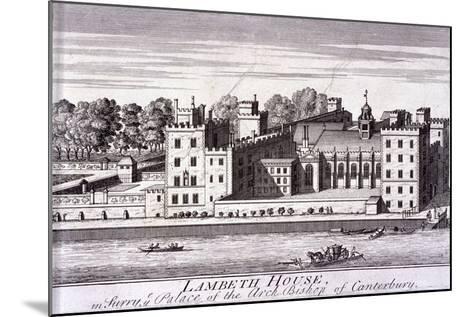 Lambeth Palace, London, C1720--Mounted Giclee Print