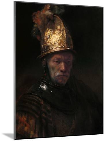 The Man with the Golden Helmet, C. 1650-Rembrandt van Rijn-Mounted Giclee Print