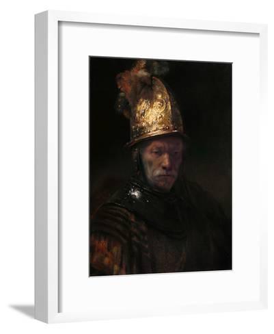 The Man with the Golden Helmet, C. 1650-Rembrandt van Rijn-Framed Art Print