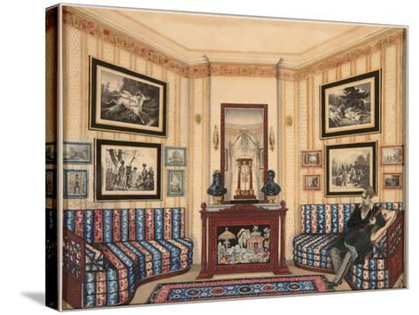 Prince Golitsyn' Room, 1840S--Stretched Canvas Print