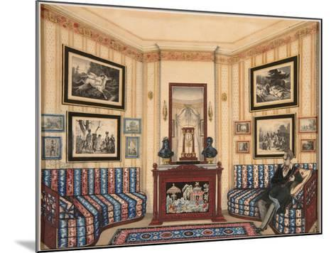 Prince Golitsyn' Room, 1840S--Mounted Giclee Print