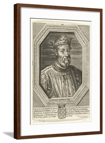 Louis XIV, King of France, Called D'Outremer-Pieter de Bailliu the Elder-Framed Art Print