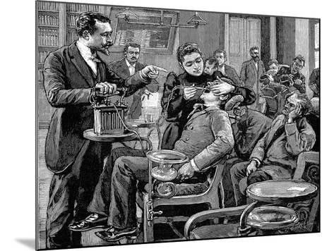 Clinic at the School of Dentistry, Paris, 1892--Mounted Giclee Print