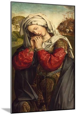 The Mourning Mary Magdalene, C. 1500-Colijn de Coter-Mounted Giclee Print