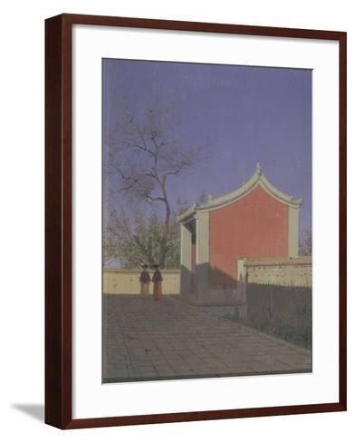 Meeting House of the Solons in Akh-Kent-Vasili Vasilyevich Vereshchagin-Framed Art Print