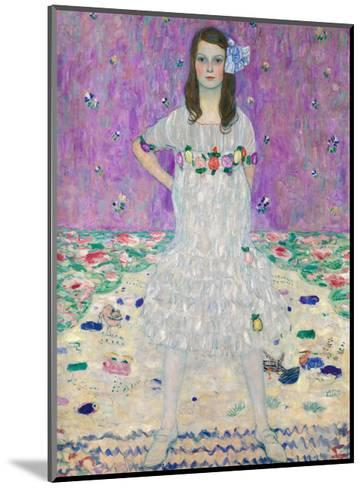 Portrait of M?da Primavesi, 1912-Gustav Klimt-Mounted Giclee Print