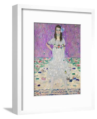 Portrait of M?da Primavesi, 1912-Gustav Klimt-Framed Art Print