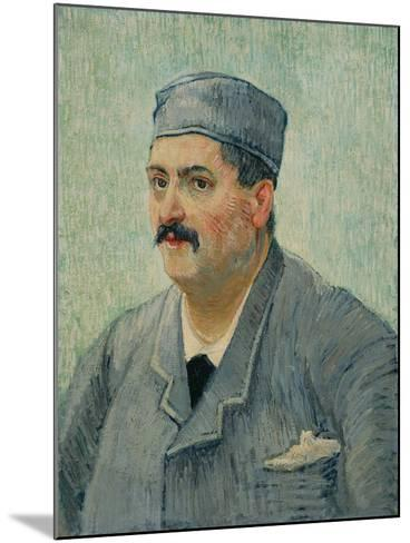 Portrait of Etienne-Lucien Martin, 1887-Vincent van Gogh-Mounted Giclee Print
