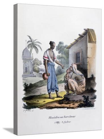 Servant, 1828- Marlet et Cie-Stretched Canvas Print