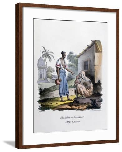 Servant, 1828- Marlet et Cie-Framed Art Print
