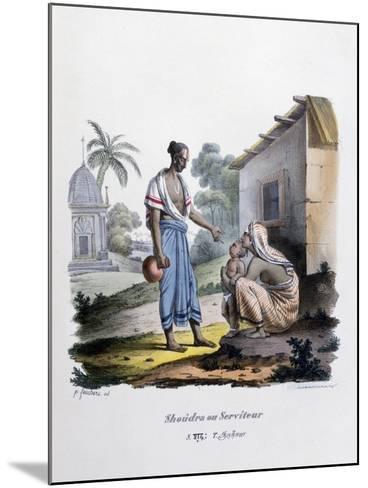 Servant, 1828- Marlet et Cie-Mounted Giclee Print