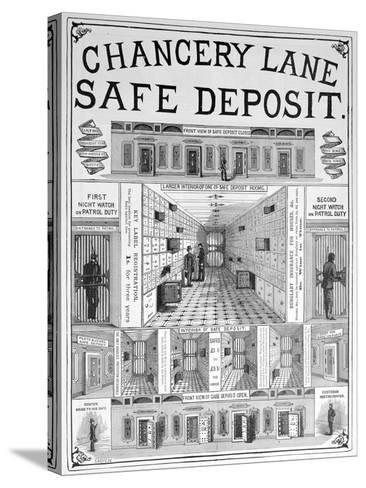Chancery Lane Safe Deposit Facility, 1893--Stretched Canvas Print