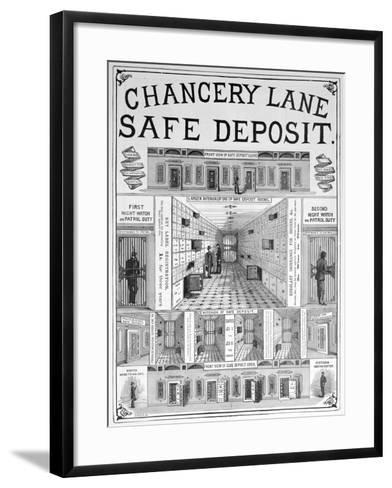 Chancery Lane Safe Deposit Facility, 1893--Framed Art Print