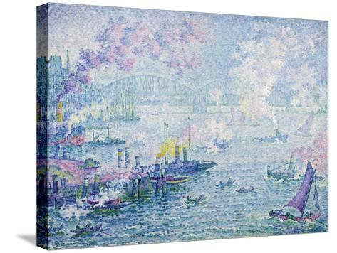 The Port of Rotterdam, 1907-Paul Signac-Stretched Canvas Print