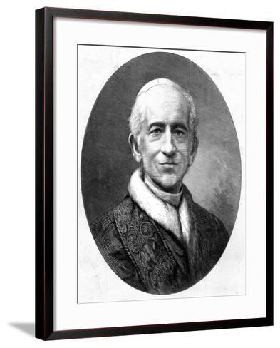 Pope Leo XIII (Vincenzo Giacchino Pecci 1810-190) Shortly after His Election, 1878--Framed Art Print