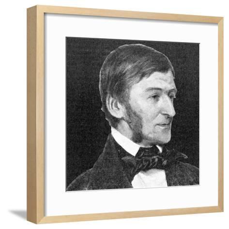 Ralph Waldo Emerson, 1923--Framed Art Print