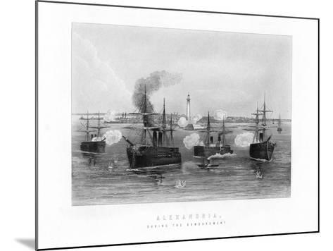 Alexandria, During the Bombardment, 1882, (19th Century)--Mounted Giclee Print