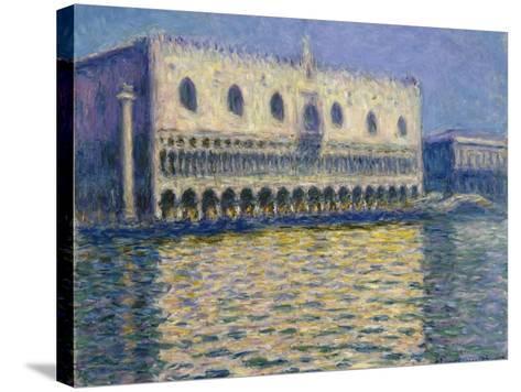 The Doges Palace (Le Palais Duca), 1908-Claude Monet-Stretched Canvas Print