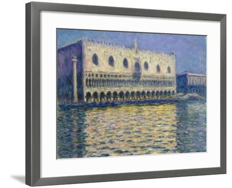 The Doges Palace (Le Palais Duca), 1908-Claude Monet-Framed Art Print