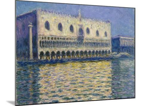 The Doges Palace (Le Palais Duca), 1908-Claude Monet-Mounted Giclee Print