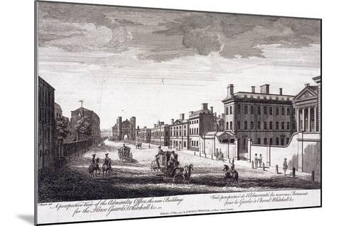 Admiralty, Whitehall, London, 1794-Laurie & Whittle-Mounted Giclee Print