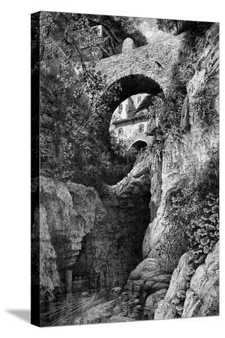 At St Gingolph, Savoie, 1900-Clifford Harrison-Stretched Canvas Print