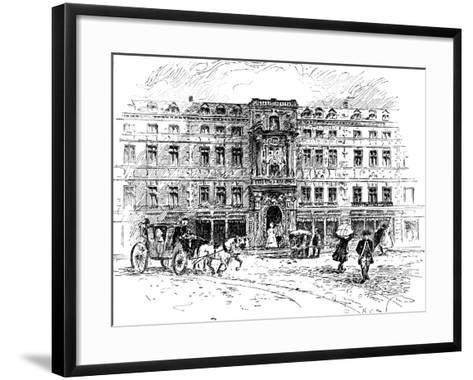 The Old Mercers Hall, London, 1909--Framed Art Print