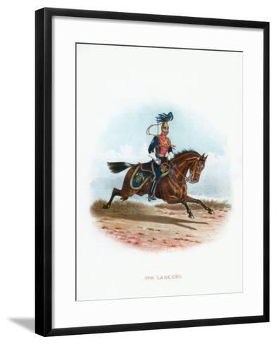 9th Lancers, 1889--Framed Art Print