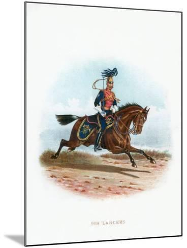 9th Lancers, 1889--Mounted Giclee Print
