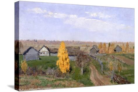 Golden Autumn. Slobodka, 1889-Isaak Ilyich Levitan-Stretched Canvas Print