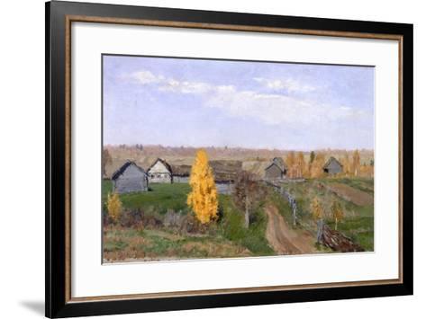 Golden Autumn. Slobodka, 1889-Isaak Ilyich Levitan-Framed Art Print