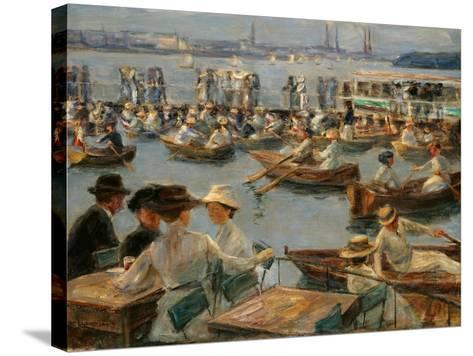 On the Alster in Hamburg, 1910-Max Liebermann-Stretched Canvas Print