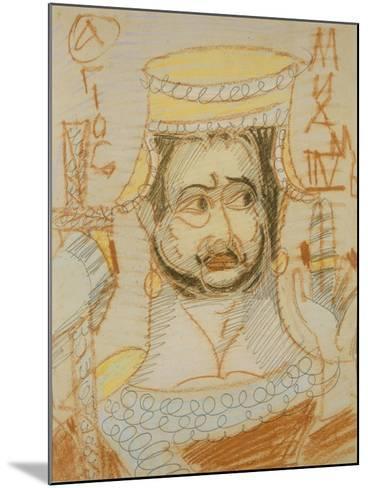 Saint Michael the Archangel-Mikhail Alexandrovich Vrubel-Mounted Giclee Print