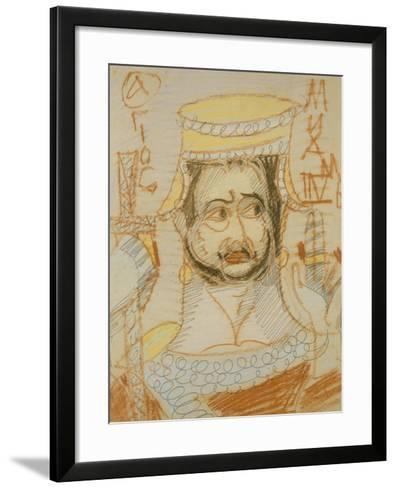 Saint Michael the Archangel-Mikhail Alexandrovich Vrubel-Framed Art Print
