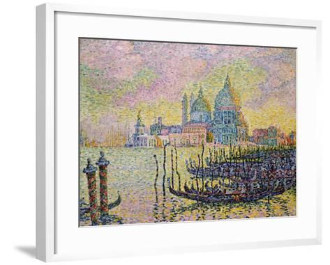 Grand Canal (Venic), 1905-Paul Signac-Framed Art Print