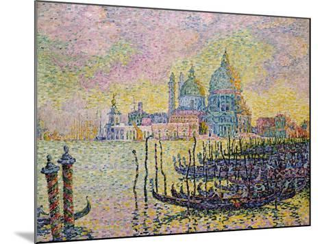 Grand Canal (Venic), 1905-Paul Signac-Mounted Giclee Print
