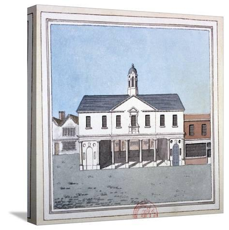 View of Romford Market House, Essex, C1800--Stretched Canvas Print