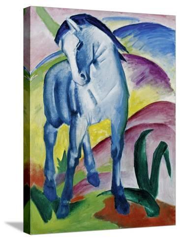Blue Horse I, 1911-Franz Marc-Stretched Canvas Print