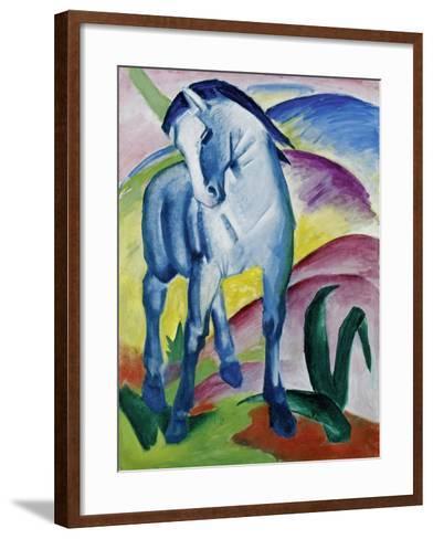 Blue Horse I, 1911-Franz Marc-Framed Art Print